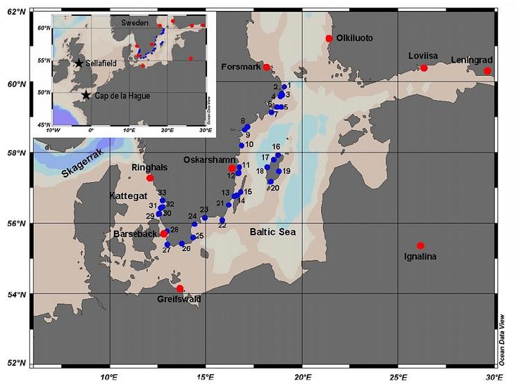 Estudio realizado en el Mar Báltico. Imagen: CNA.