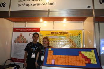 Jvenes estudiantes muestran el potencial de la innovacin en tabla peridica para invidentes proyecto brasileo urtaz Images