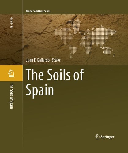 Portada del libro The Soils of Spain. Imagen: IRNASA.