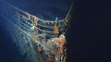 Restos del Titanic. Foto: NOAA / Institute for Exploration/University of Rhode Island or NOAA/IFE/URI.