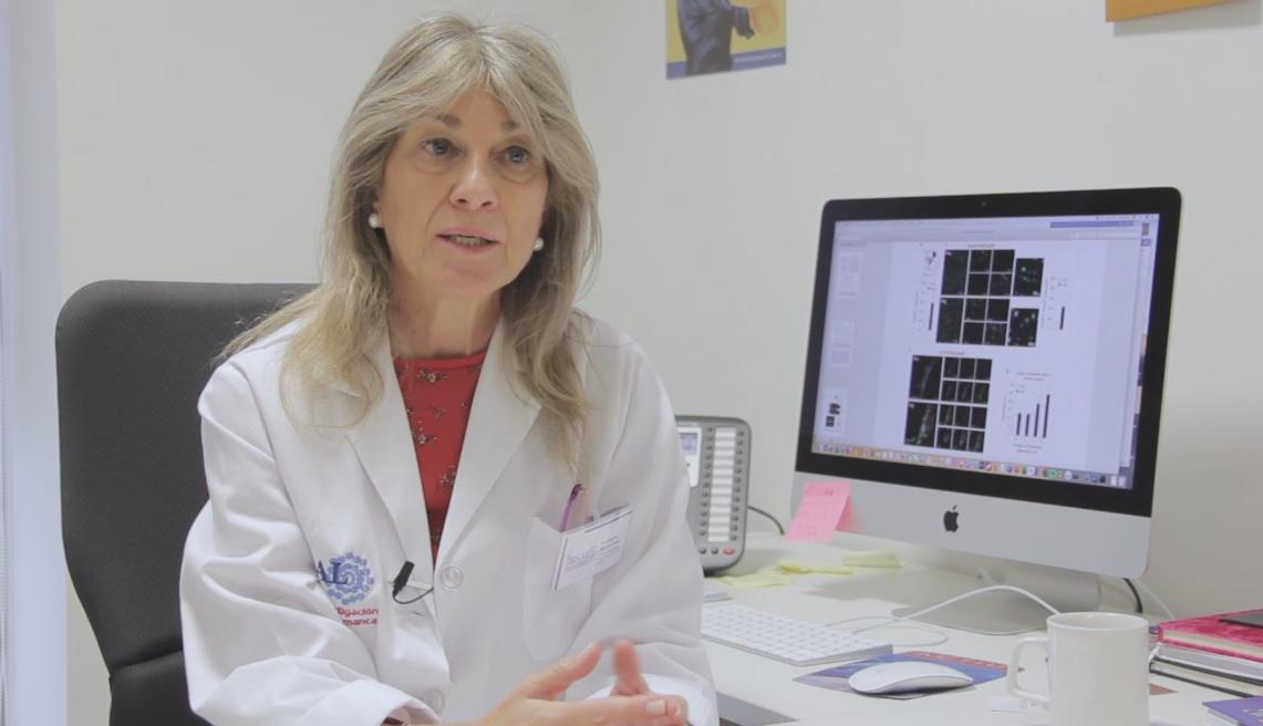 Ángeles Almeida, investigadora del IBSAL.
