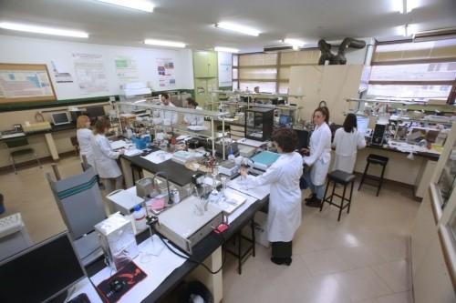 Equipo de UVasens trabajando en su laboratorio/UVa
