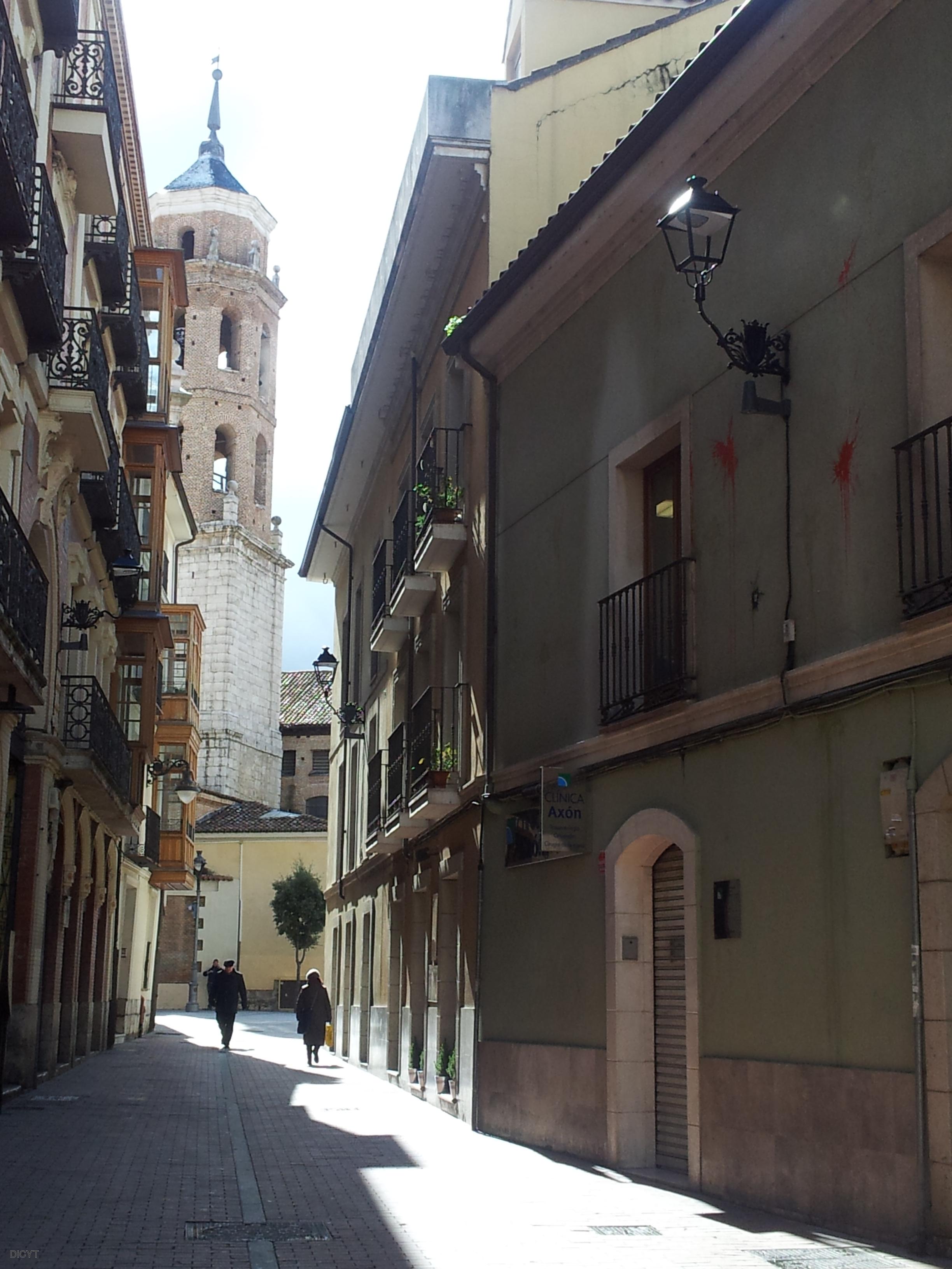 Calle castelar en valladolid donde se han instalado for Calle castelar