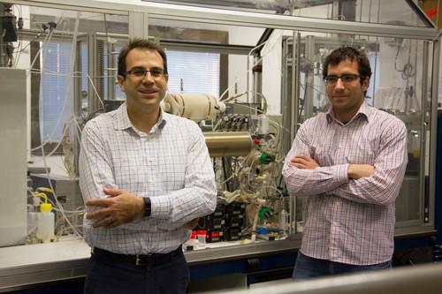 José Manuel Serra y David Catalán. Foto: UPV.