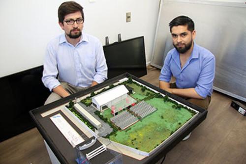 Egresados crean primera planta industrial de deshidratación de frutas con energía solar/USAH