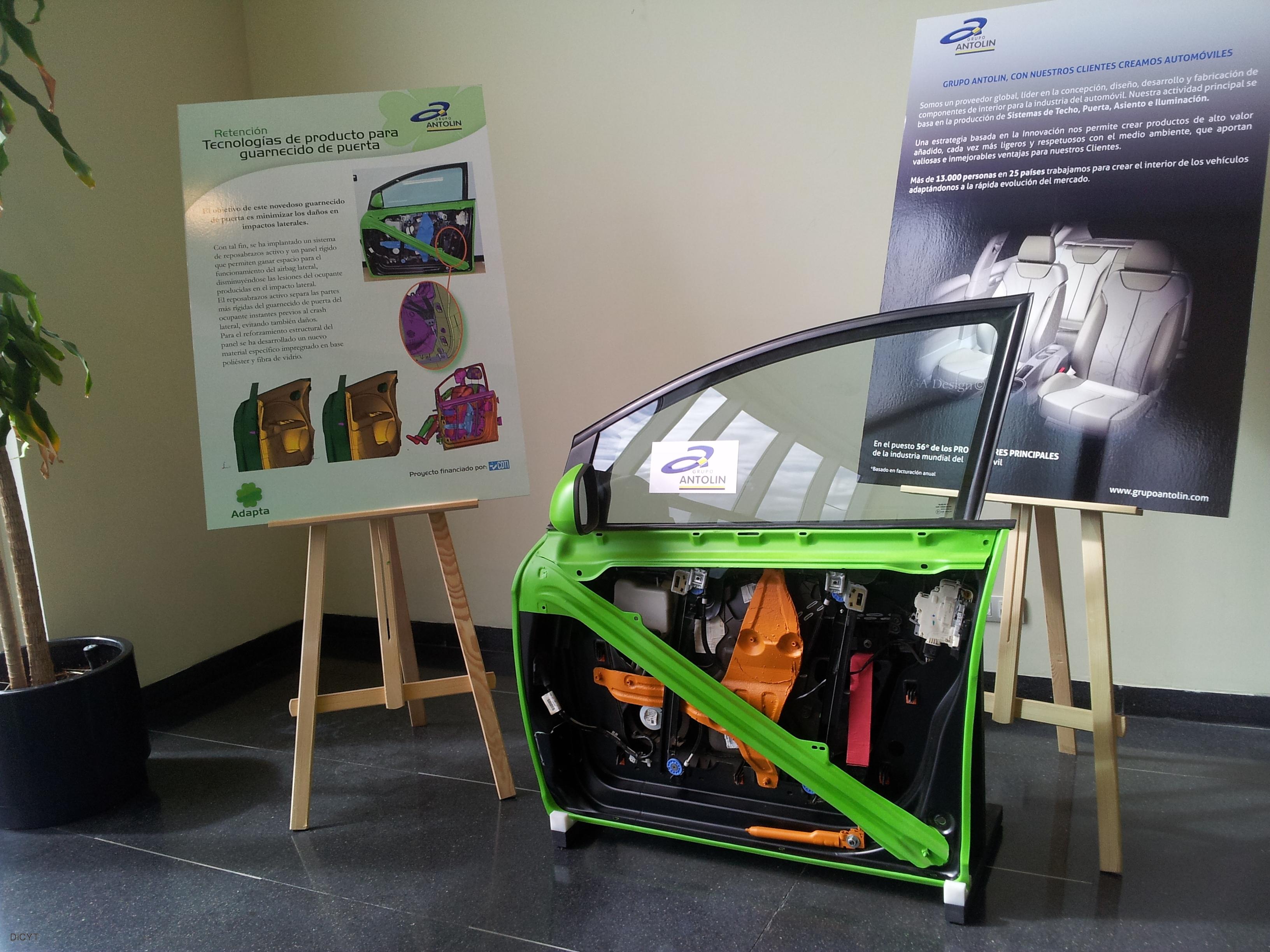Grupo Antolín diseña un asiento de coche que se desplaza en caso de ...